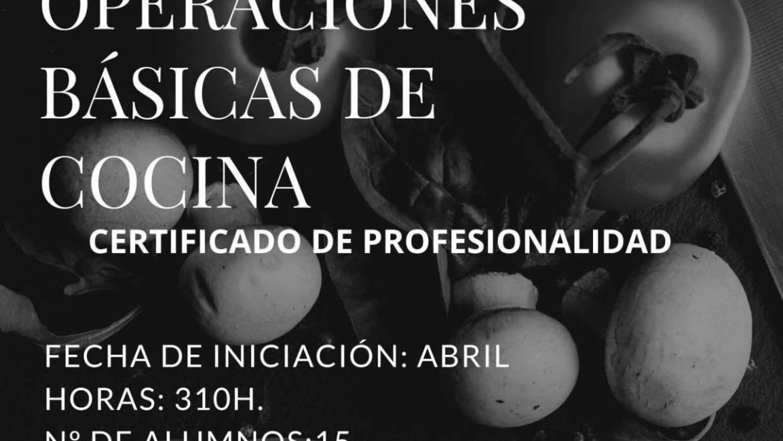 PRÓXIMAMENTE: CURSO GRATUITO DE OPERACIONES BÁSICAS DE COCINA