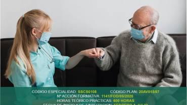 Curso Gratuito en Arévalo: Atención sociosanitaria a personas en el domicilio