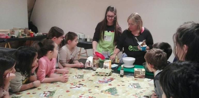El brownie deja de tener secretos para los pequeños cocineros
