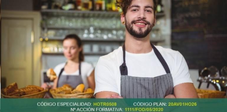 Curso Gratuito en Cebreros: Servicios de bar y cafetería