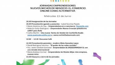 Jornadas Emprendedores. nuevos nichos de negocio: el comercio online como alternativa.