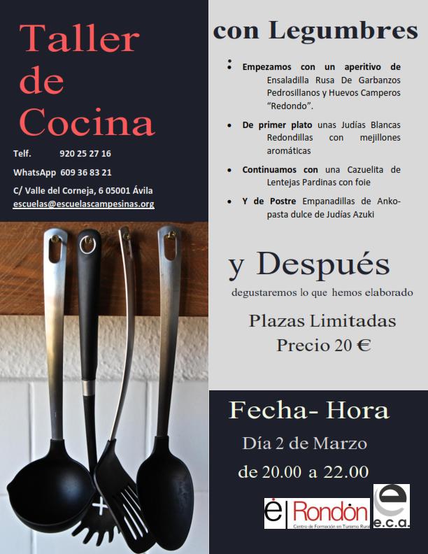 ¿Te gusta la cocina? ¿Quieres aprender nuevas recetas y sorprender en casa?